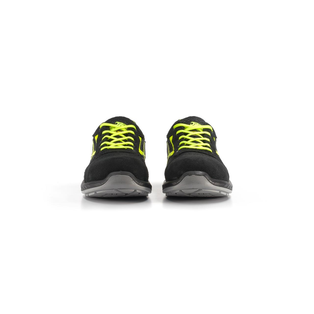 paio di scarpe antinfortunistiche upower modello marsiglia linea redindustry vista frontale