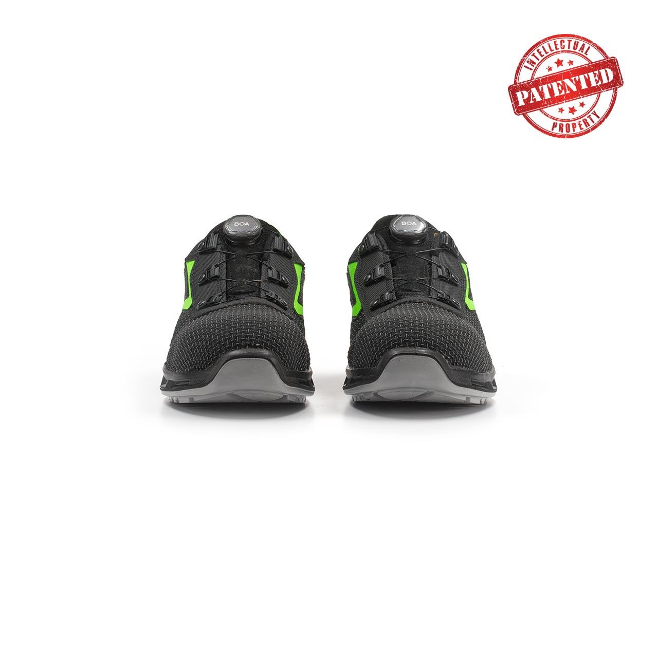 paio di scarpe antinfortunistiche upower modello monster linea redlion vista frontale