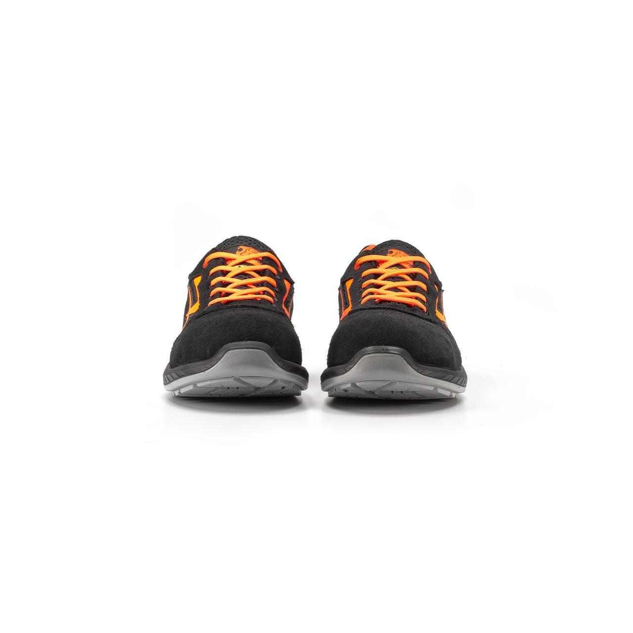 paio di scarpe antinfortunistiche upower modello nairobi linea redindustry vista frontale