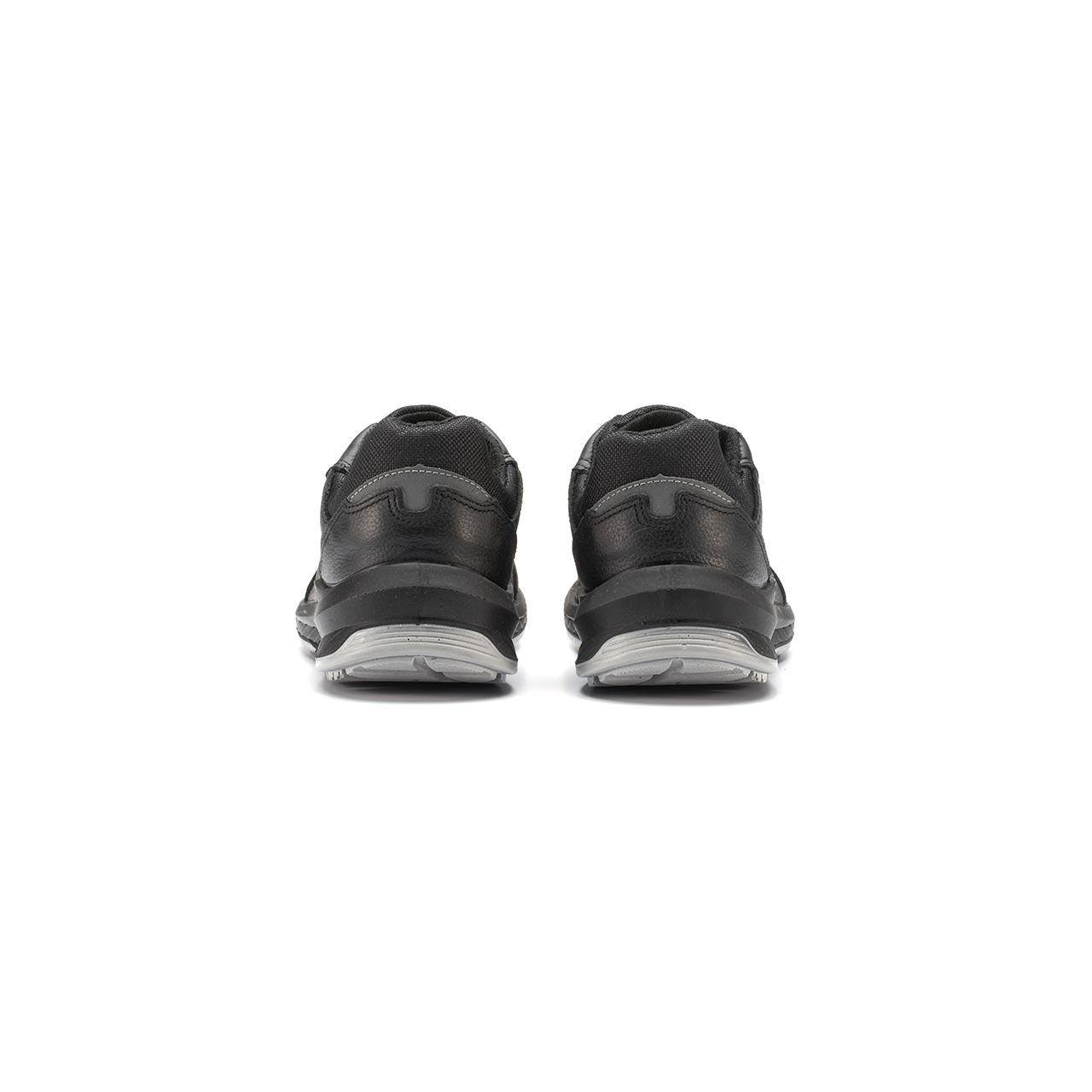 paio di scarpe antinfortunistiche upower modello nero linea redindustry vista retro