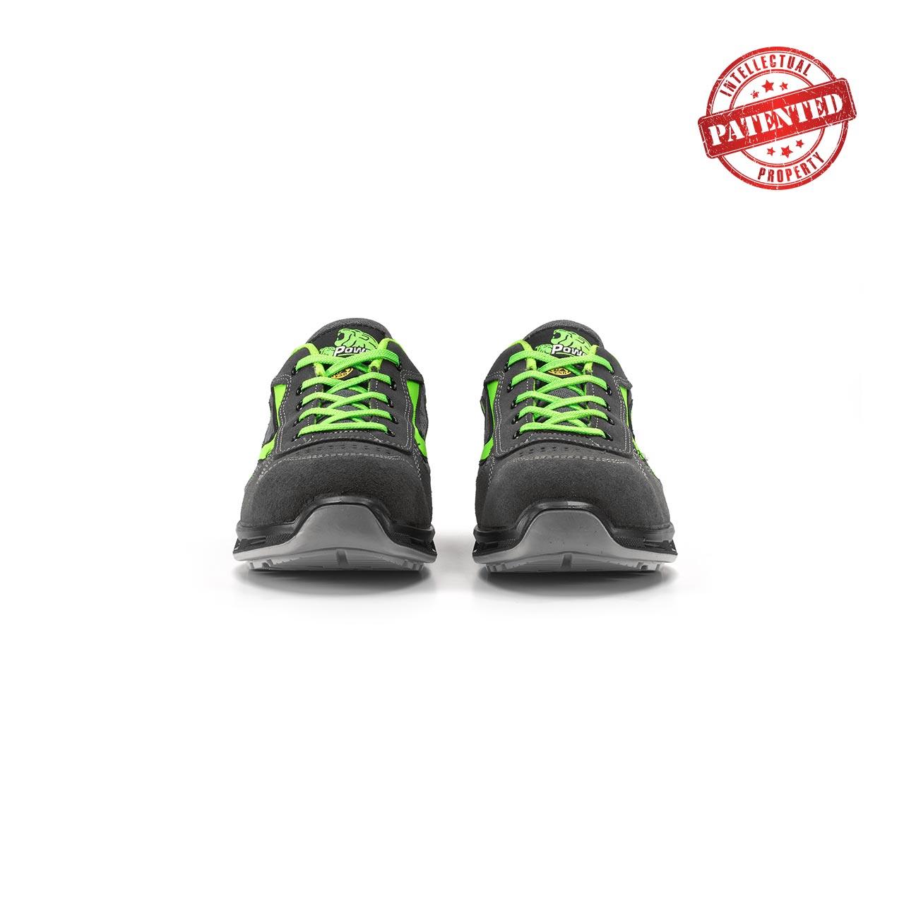 paio di scarpe antinfortunistiche upower modello point linea redlion vista frontale
