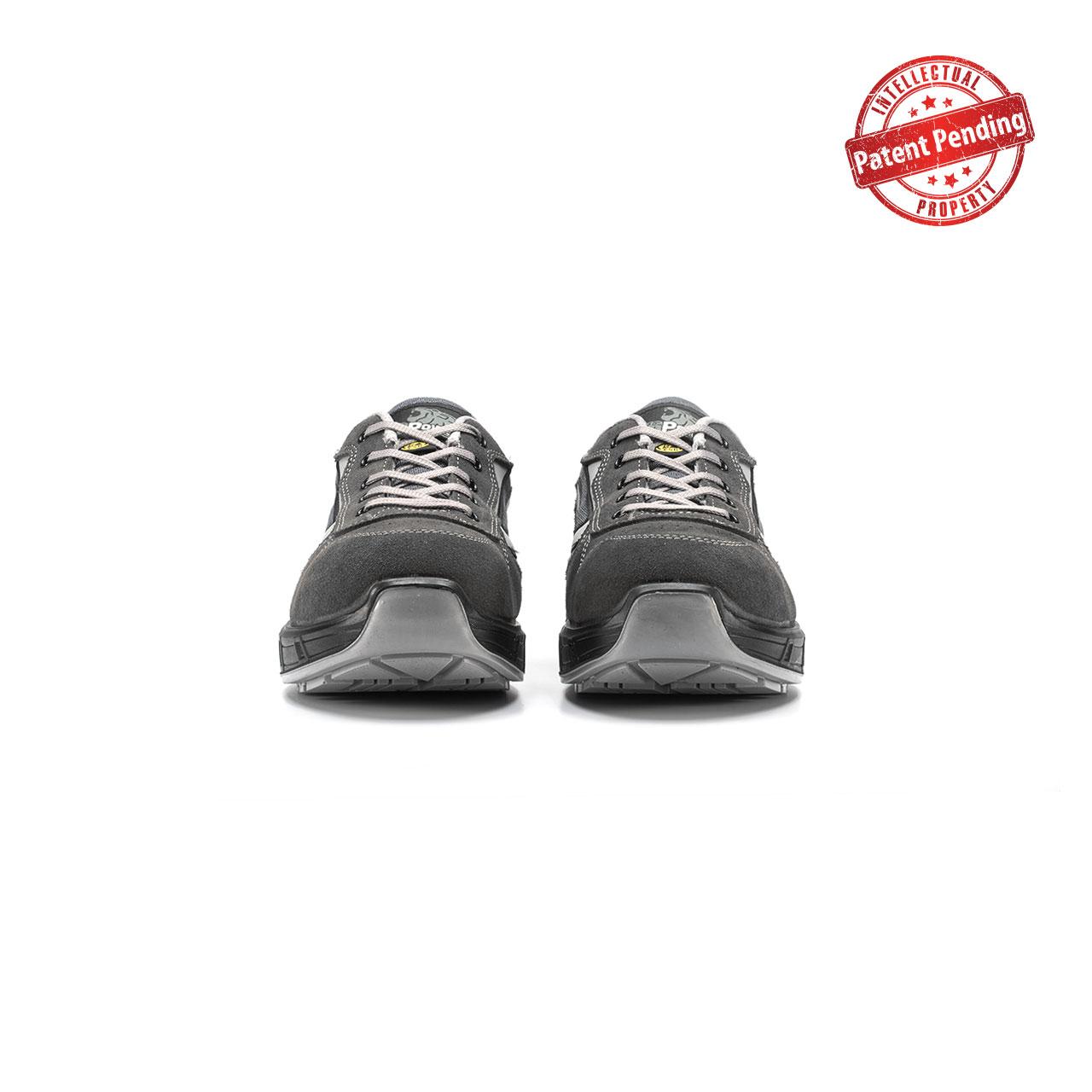 paio di scarpe antinfortunistiche upower modello push carpet linea redcarpet vista frontale