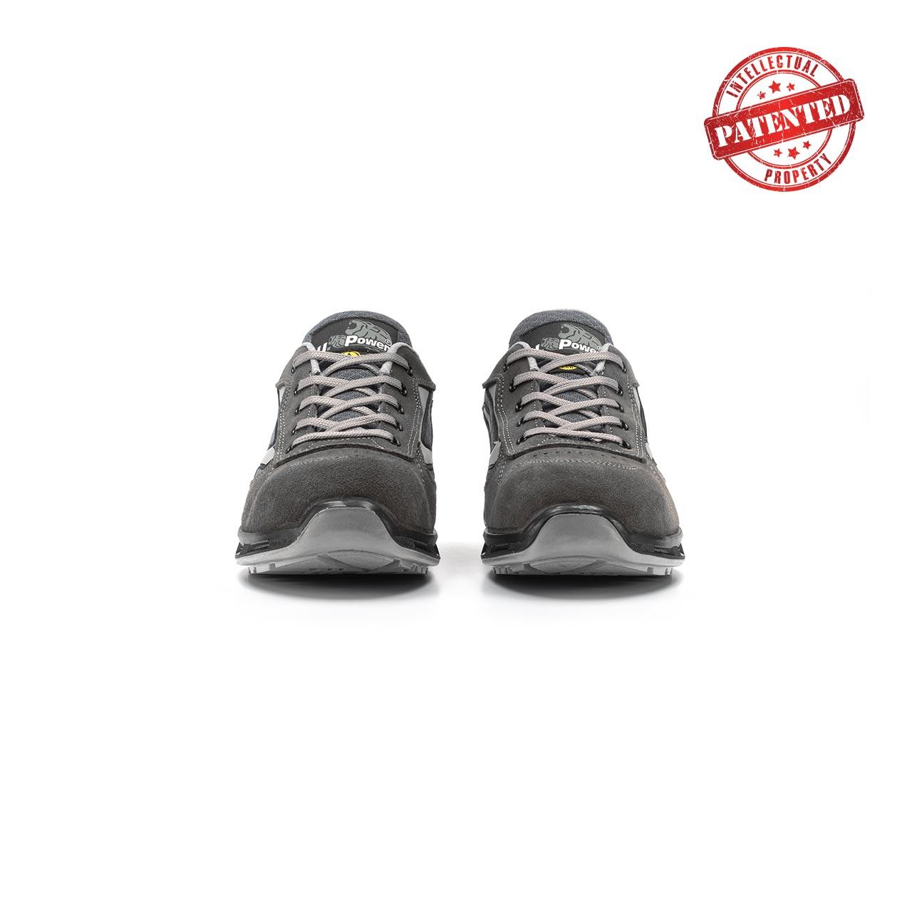 paio di scarpe antinfortunistiche upower modello push linea redlion vista frontale