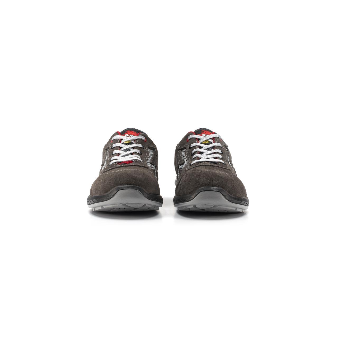 paio di scarpe antinfortunistiche upower modello radial linea redindustry vista frontale