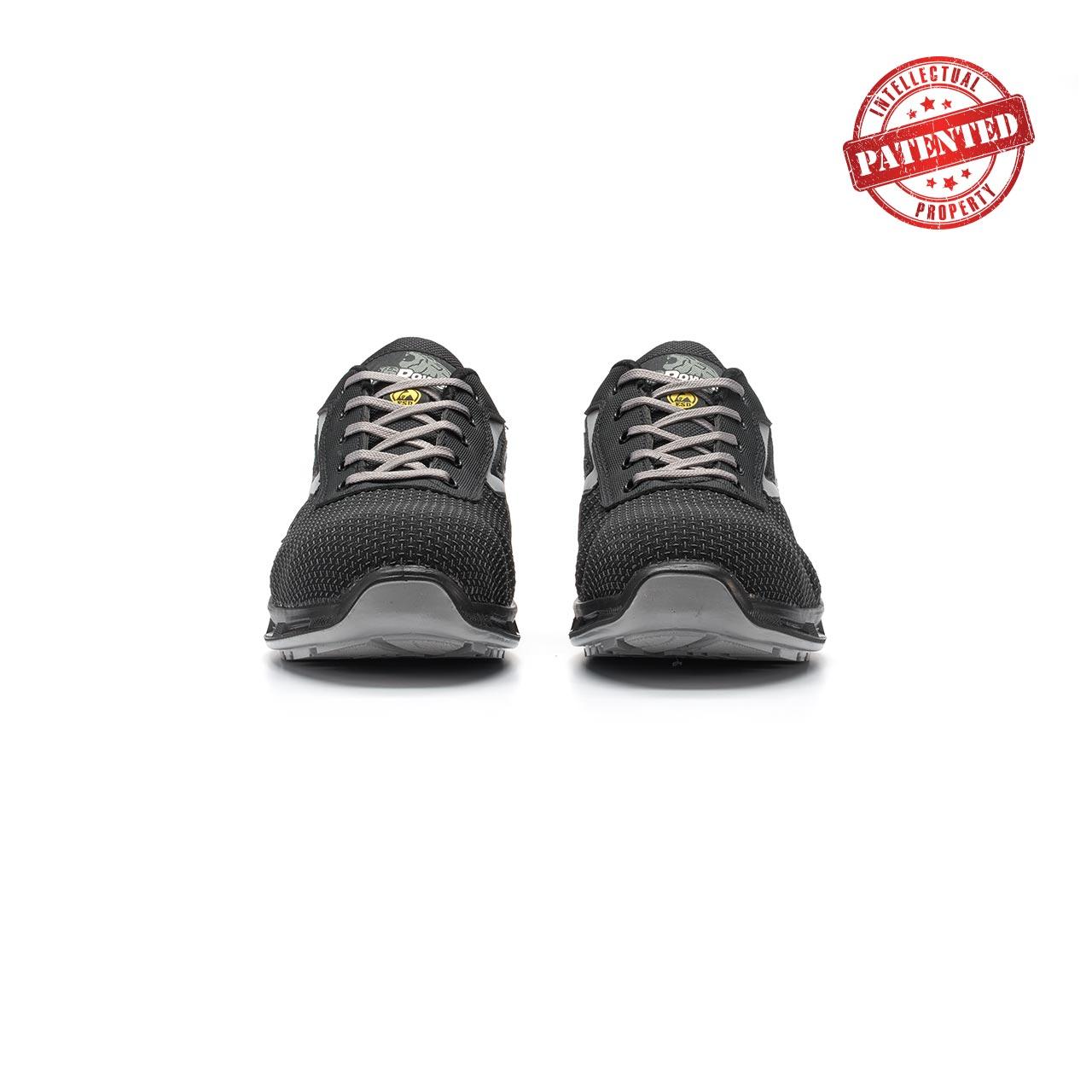 paio di scarpe antinfortunistiche upower modello raptor linea redlion vista frontale