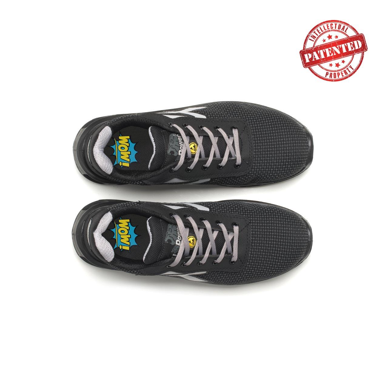 paio di scarpe antinfortunistiche upower modello raptor linea redlion vista top