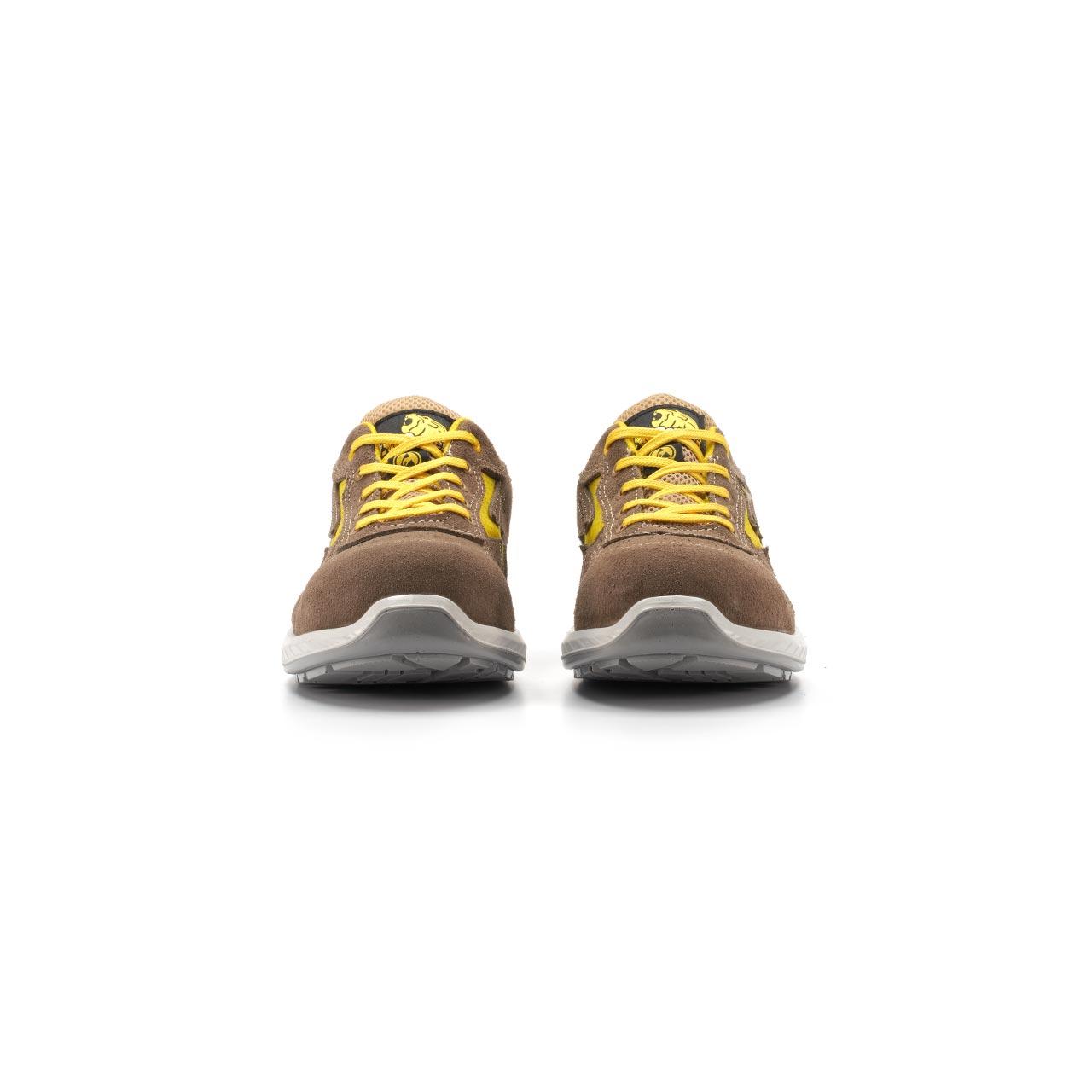 paio di scarpe antinfortunistiche upower modello reflex linea redindustry vista frontale