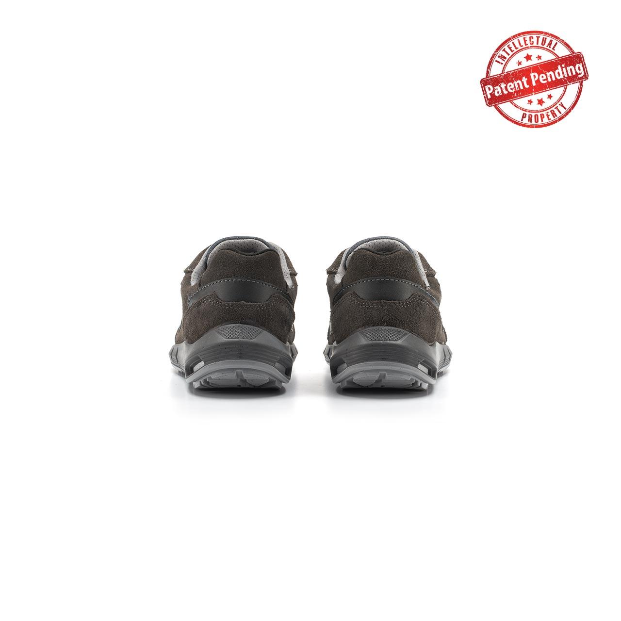 paio di scarpe antinfortunistiche upower modello rigel linea redup plus vista retro