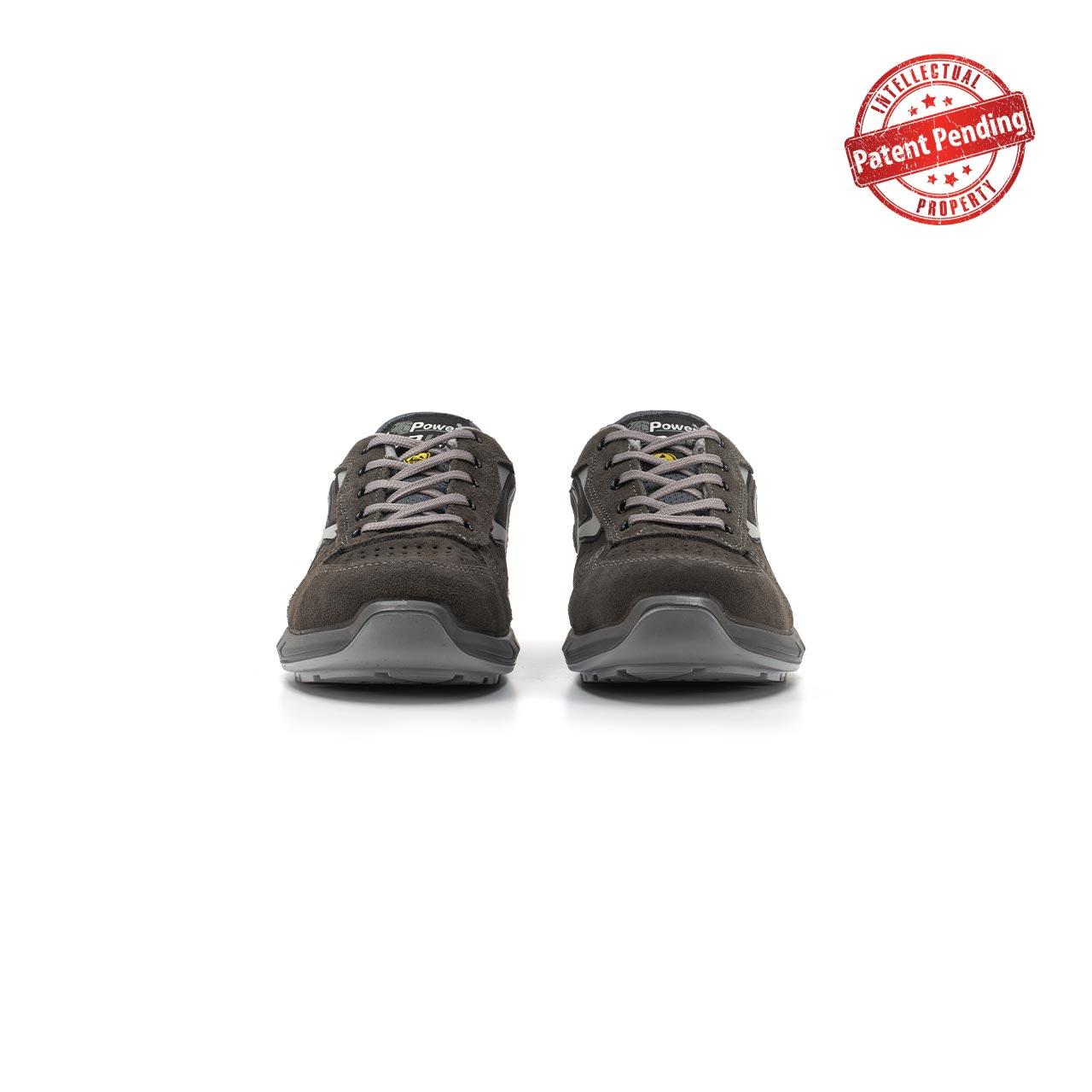 paio di scarpe antinfortunistiche upower modello rigel plus linea redup plus vista frontale