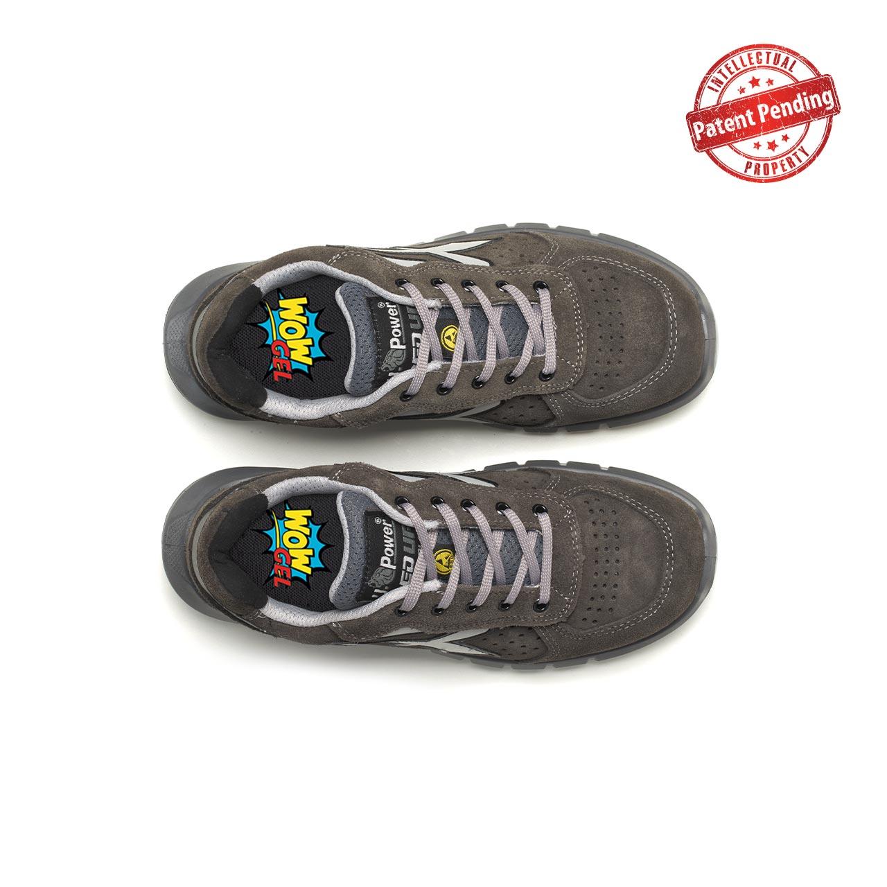 paio di scarpe antinfortunistiche upower modello rigel plus linea redup plus vista top