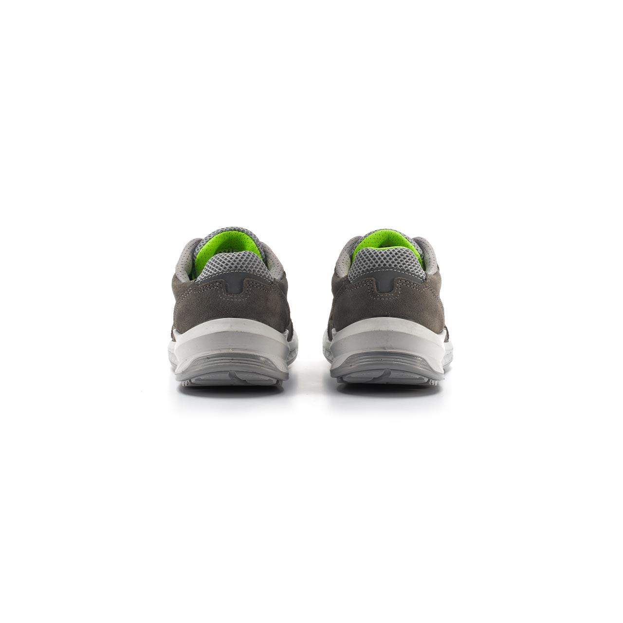 paio di scarpe antinfortunistiche upower modello rio linea redindustry vista retro