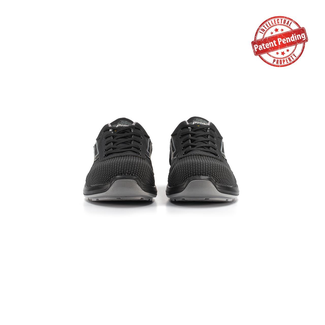 paio di scarpe antinfortunistiche upower modello scudo linea redup vista frontale