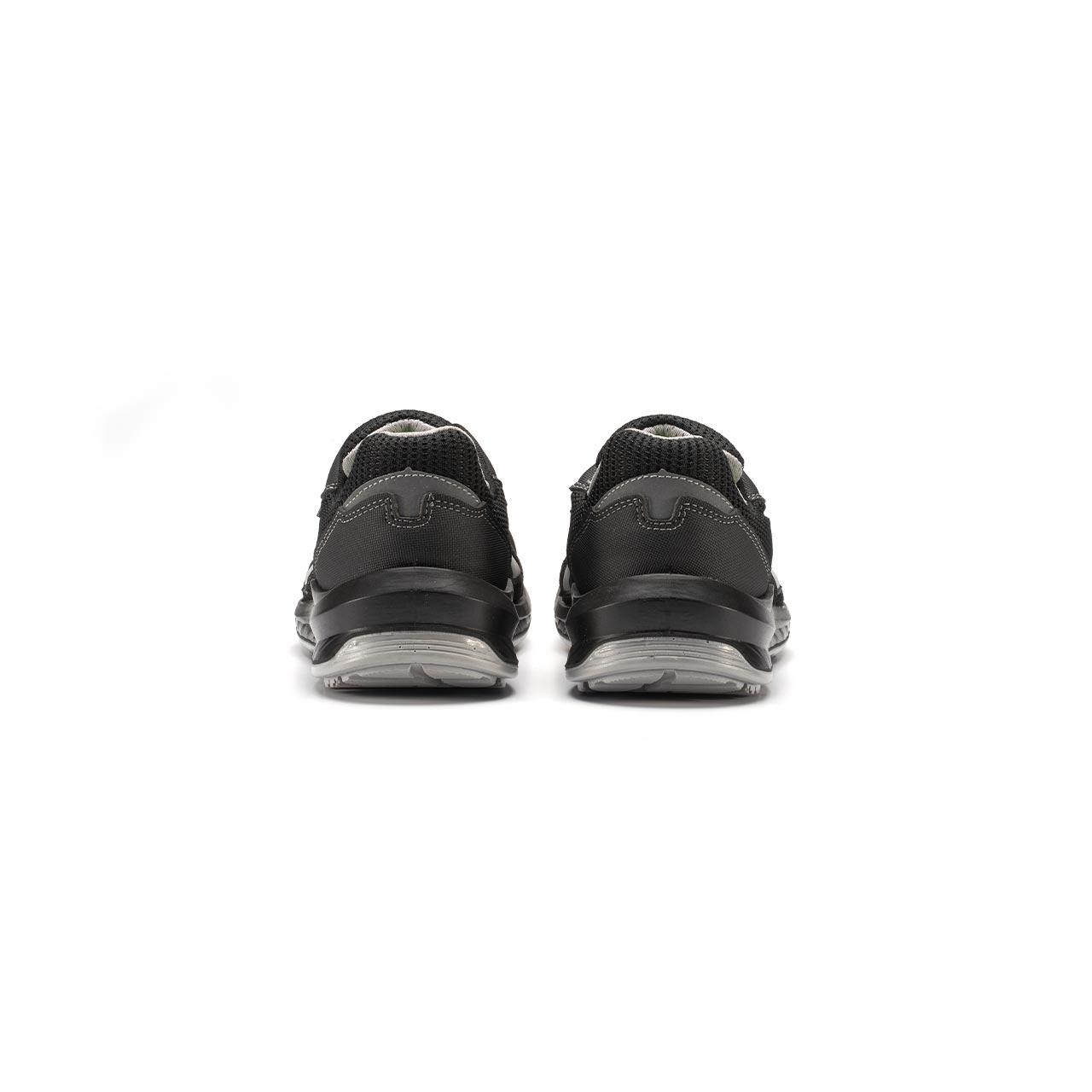 paio di scarpe antinfortunistiche upower modello shanghai linea redindustry vista retro