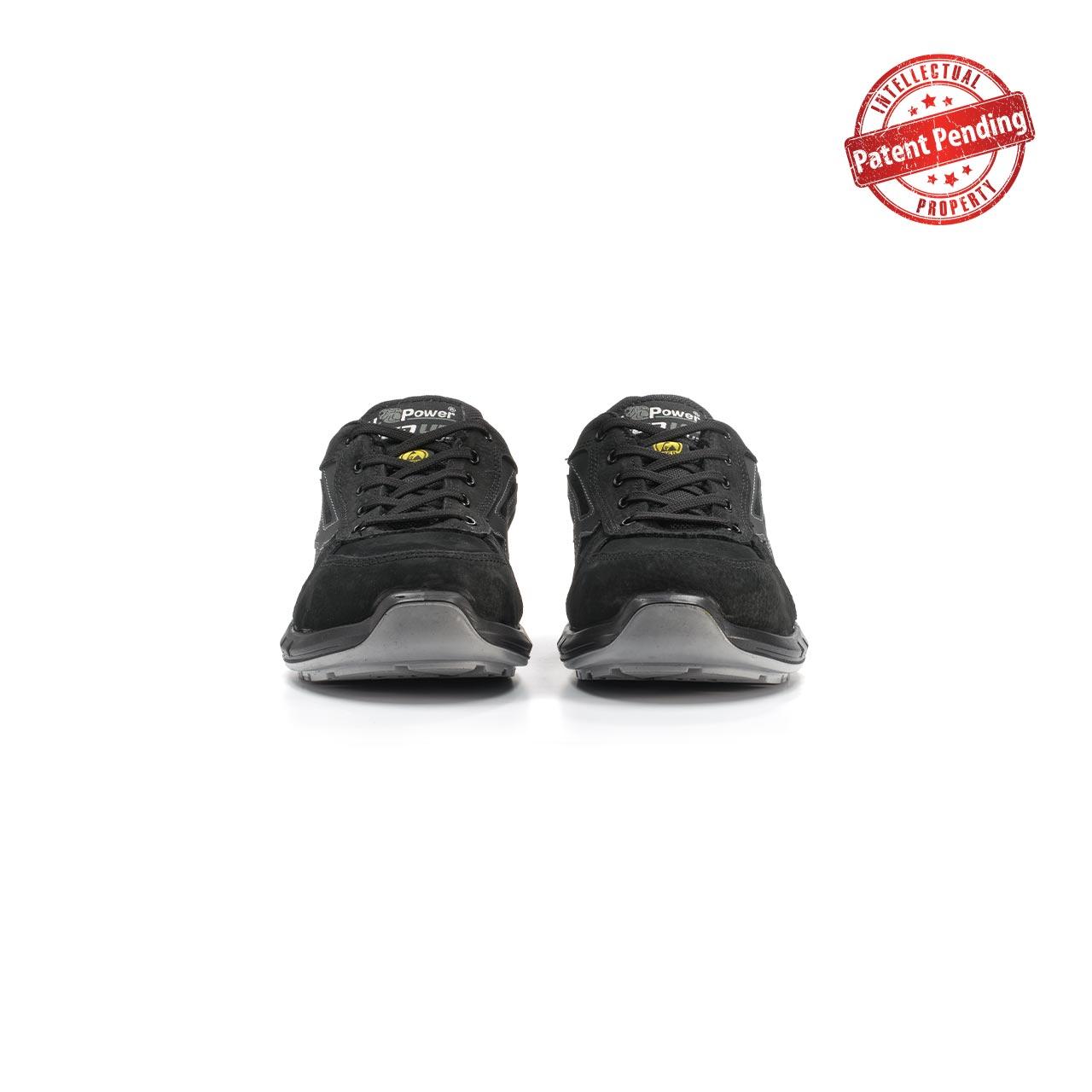 paio di scarpe antinfortunistiche upower modello shedir plus linea redup plus vista frontale