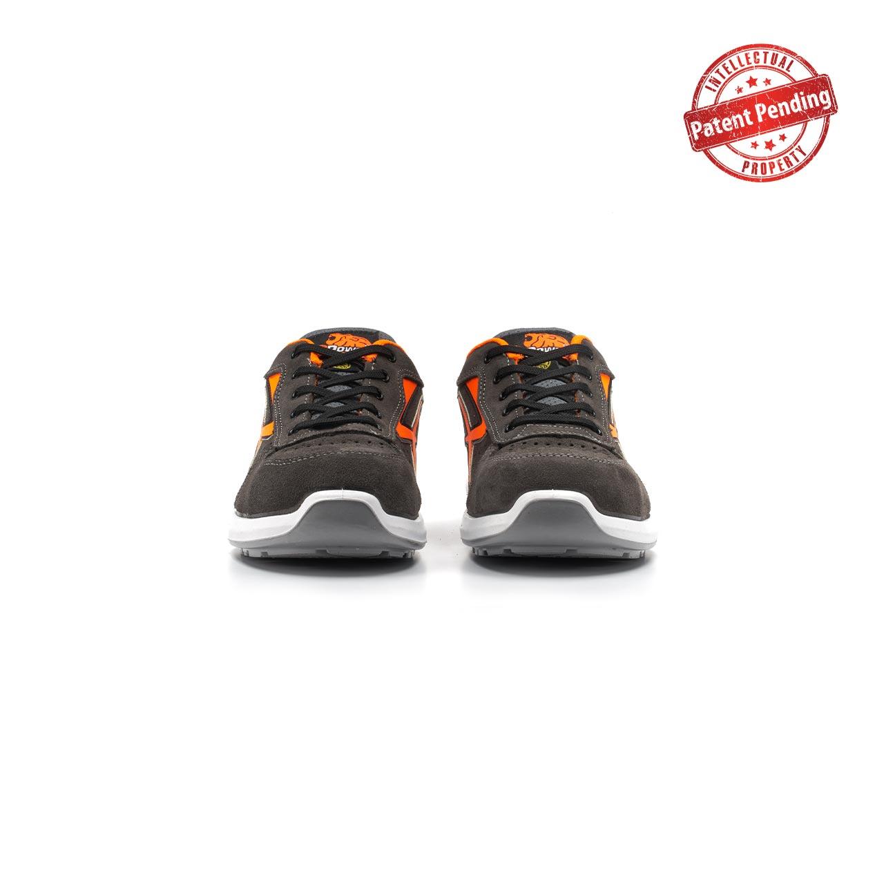 paio di scarpe antinfortunistiche upower modello sirio linea redup vista frontale