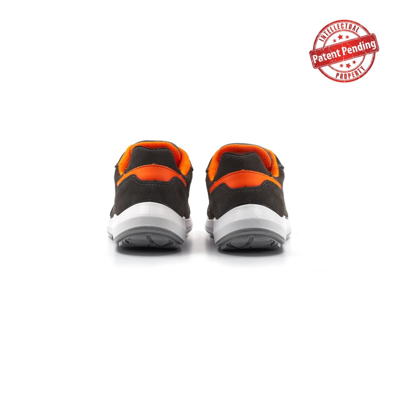 paio di scarpe antinfortunistiche upower modello sirio linea redup vista retro