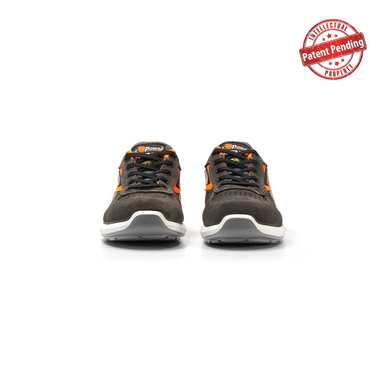paio di scarpe antinfortunistiche upower modello sirio plus linea redup plus vista frontale