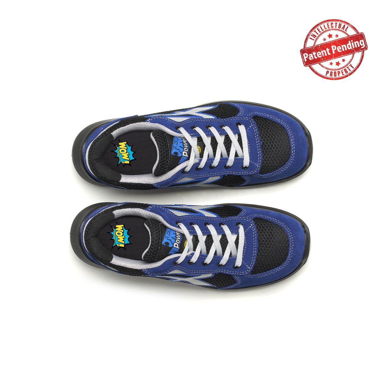 paio di scarpe antinfortunistiche upower modello sky linea redup vista top