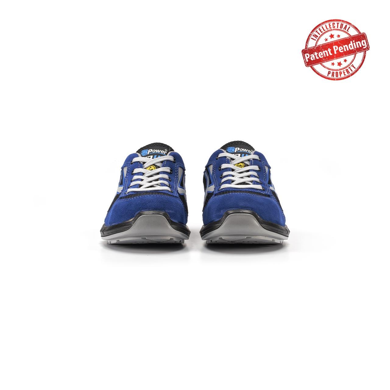 paio di scarpe antinfortunistiche upower modello sky plus linea redup plus vista frontale