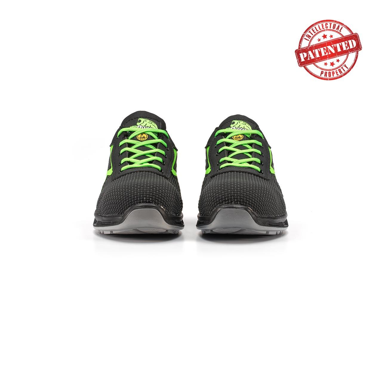 paio di scarpe antinfortunistiche upower modello strong linea redlion vista frontale