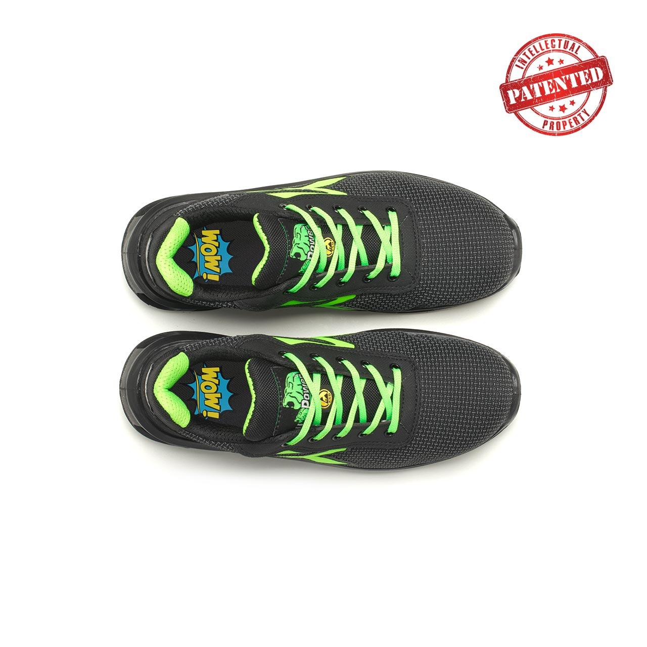 paio di scarpe antinfortunistiche upower modello strong linea redlion vista top