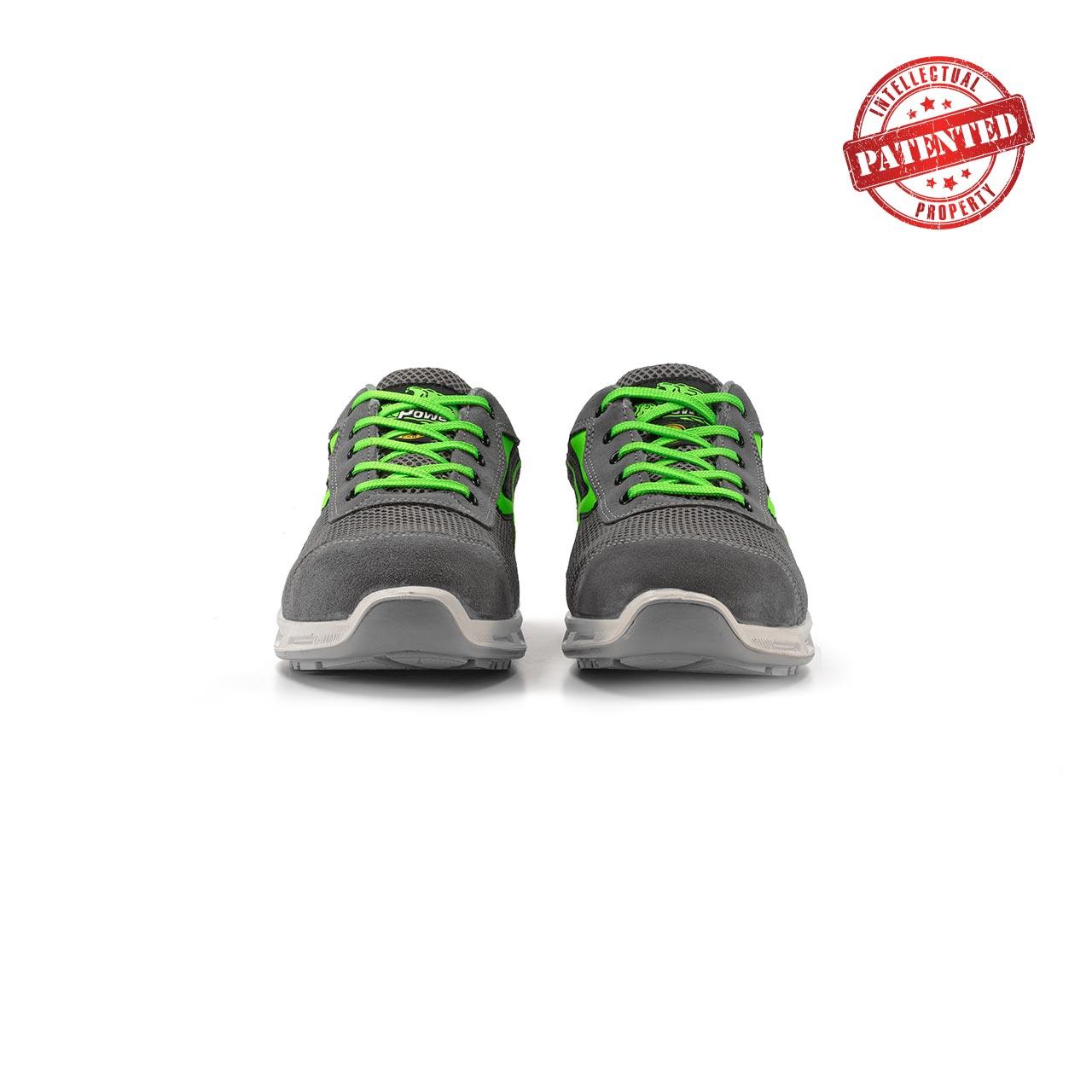 paio di scarpe antinfortunistiche upower modello summer linea redlion vista frontale