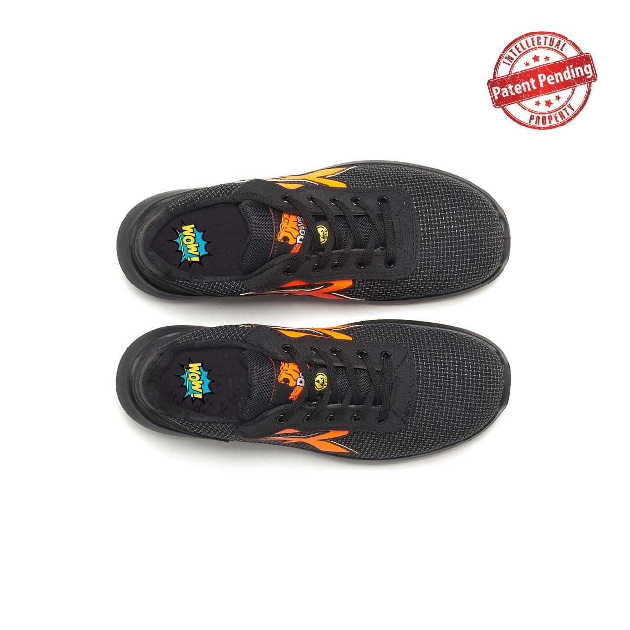 paio di scarpe antinfortunistiche upower modello taurus linea redup vista top