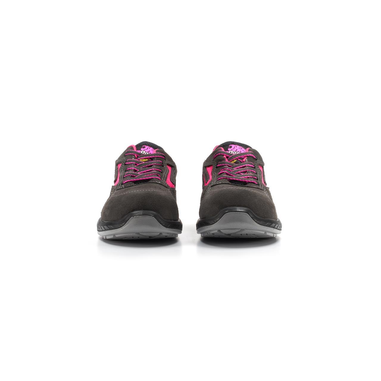 paio di scarpe antinfortunistiche upower modello tokio linea redindustry vista frontale