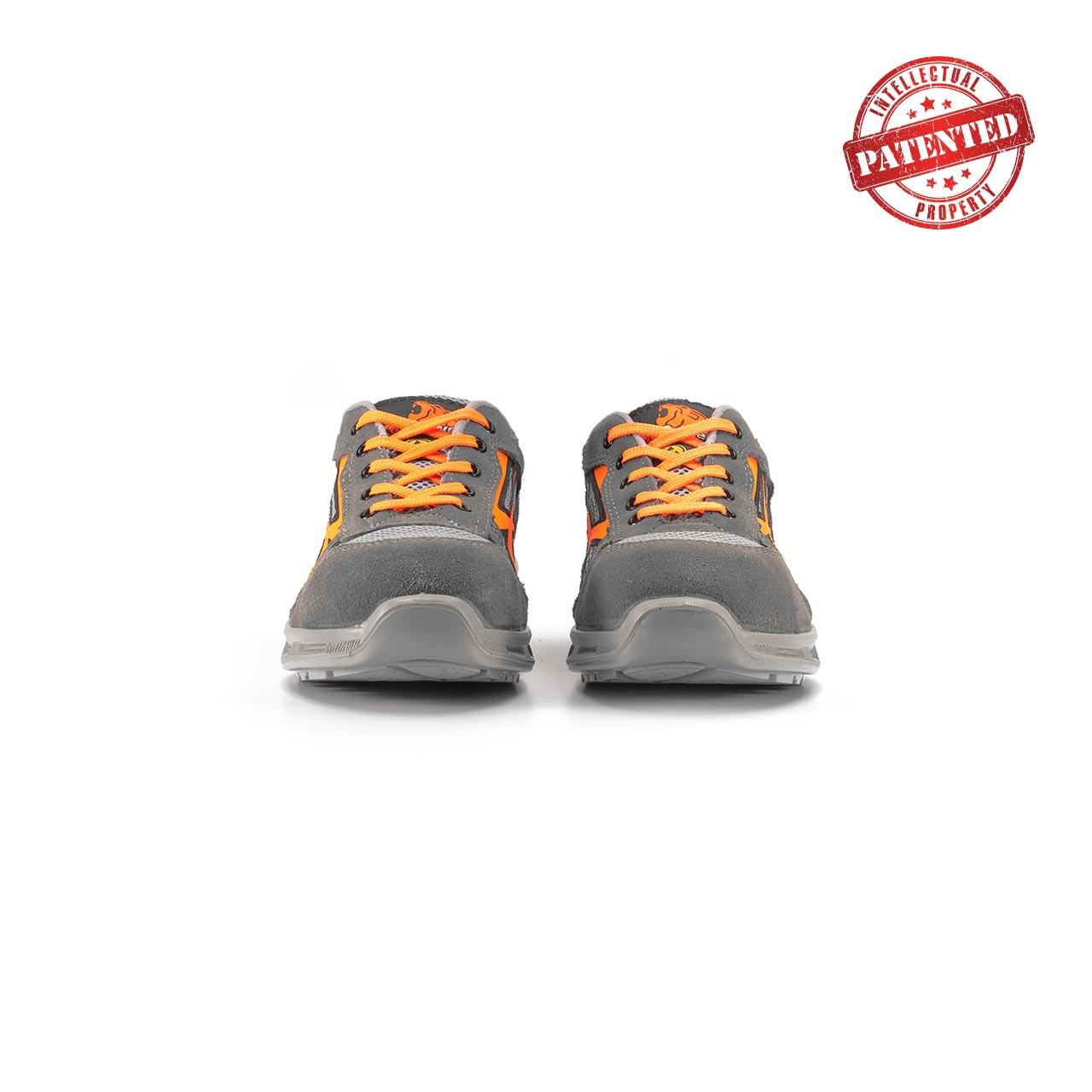 paio di scarpe antinfortunistiche upower modello ultra linea redlion vista frontale