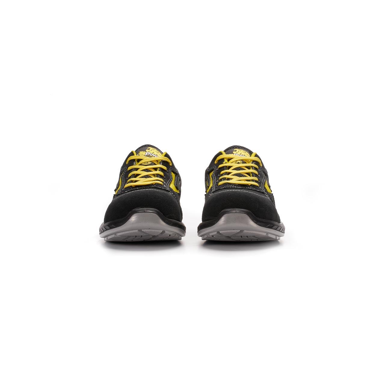 paio di scarpe antinfortunistiche upower modello vortix linea redindustry vista frontale