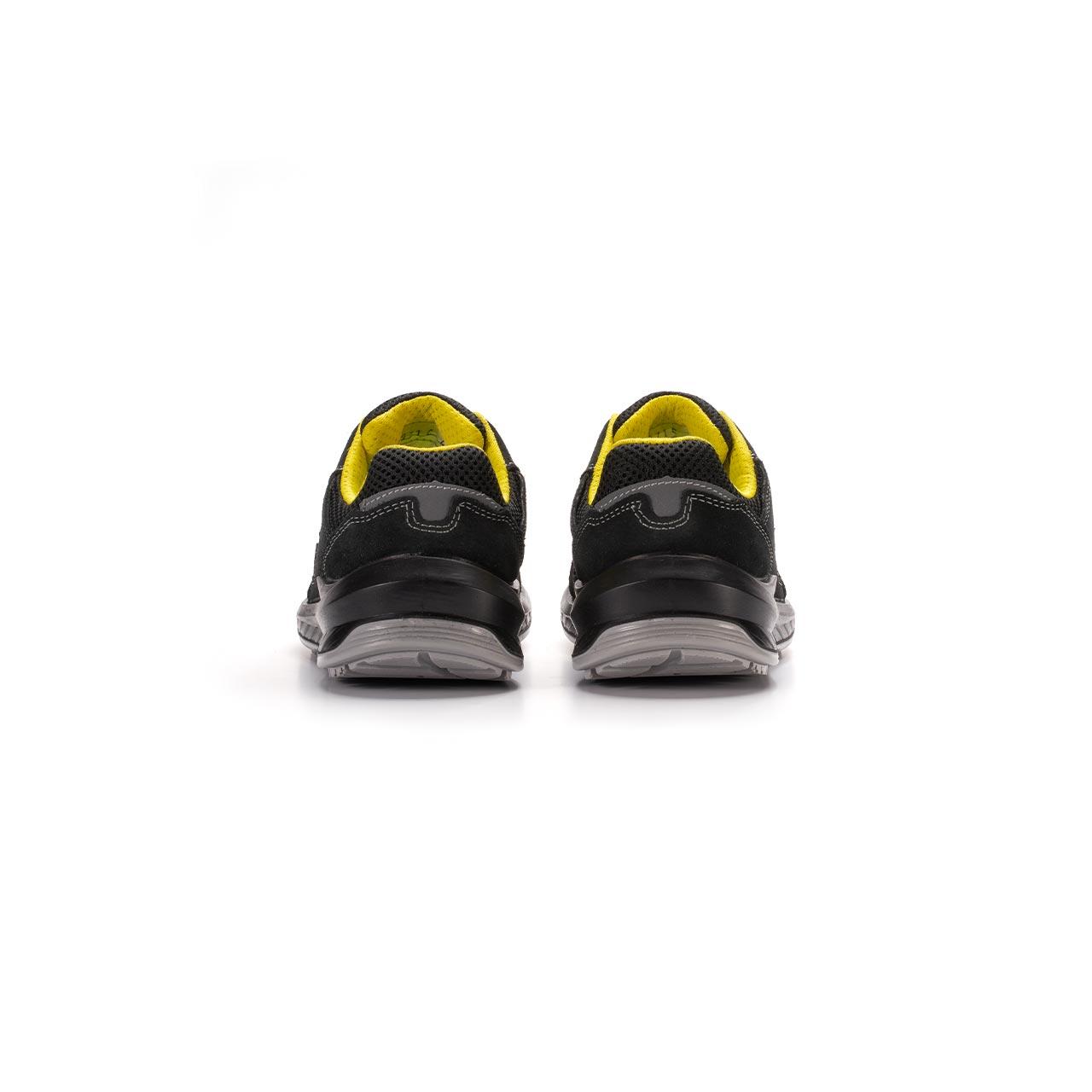paio di scarpe antinfortunistiche upower modello vortix linea redindustry vista retro