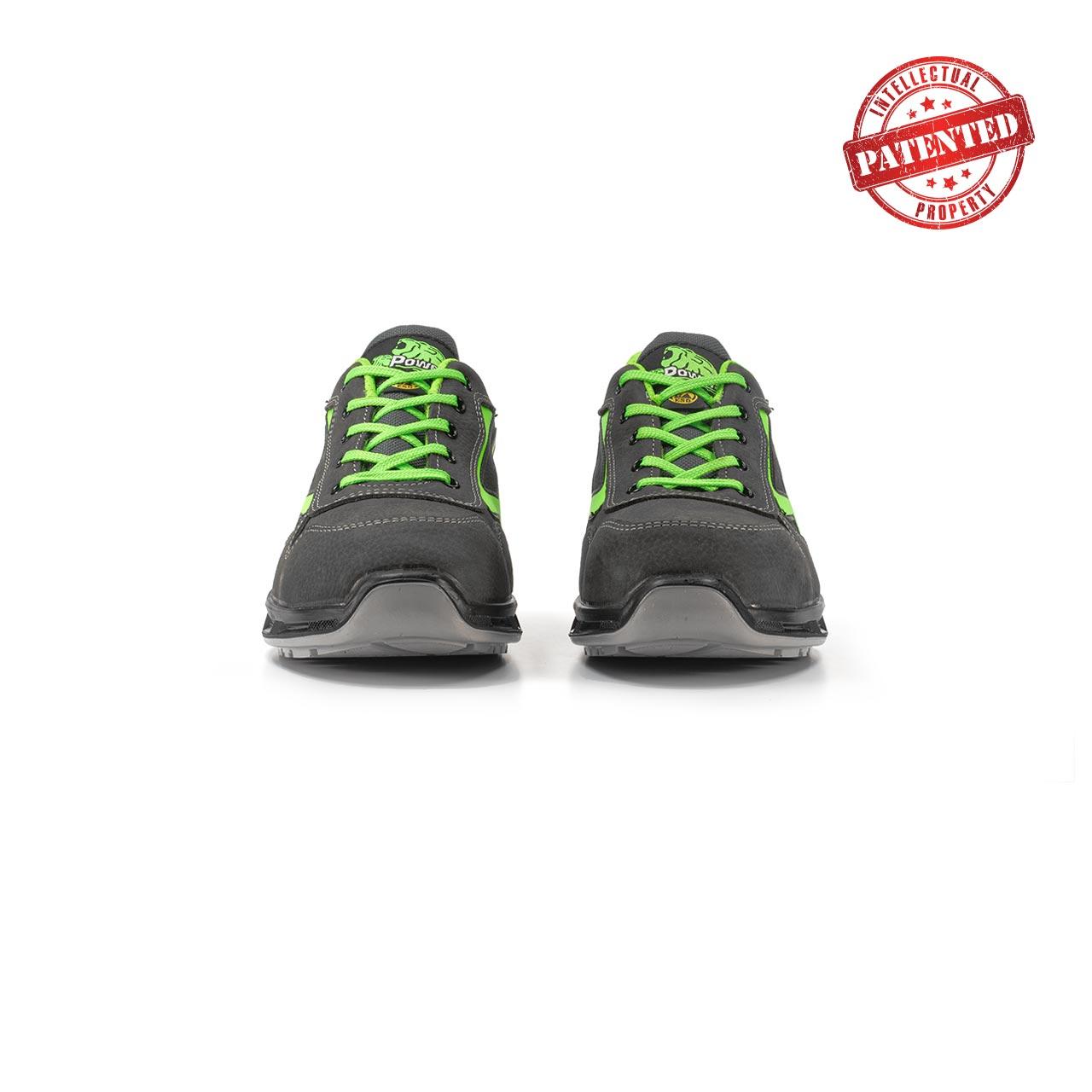 paio di scarpe antinfortunistiche upower modello yoda linea redlion vista frontale