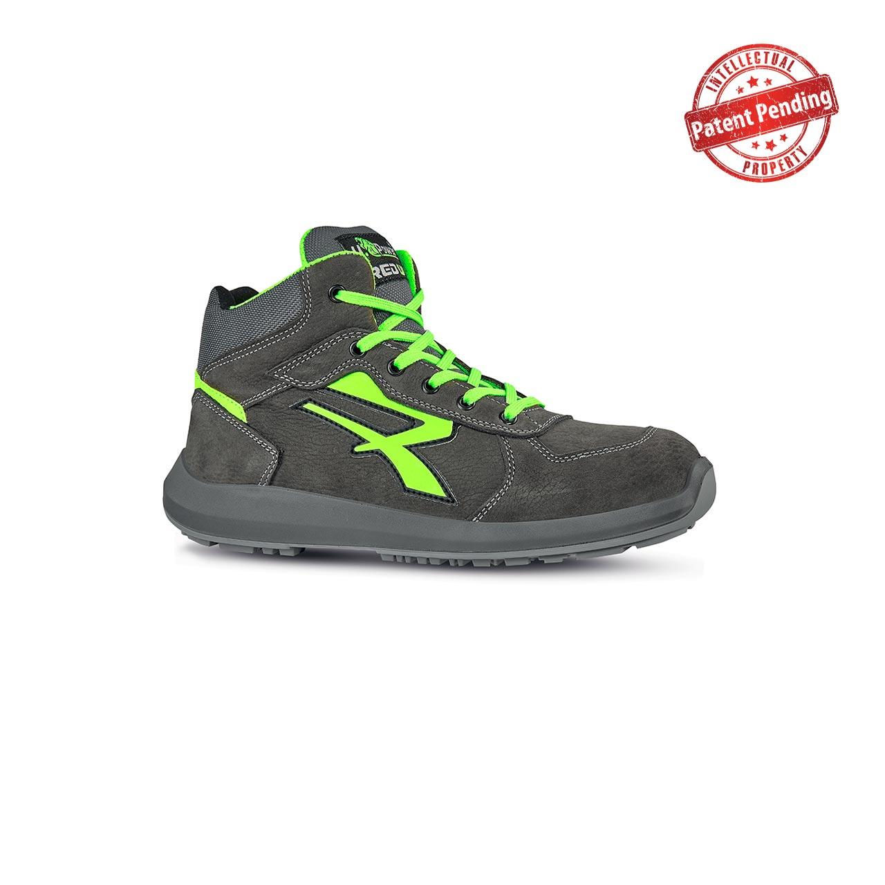 scarpa antinfortunistica alta upower modello aries linea redup vista laterale