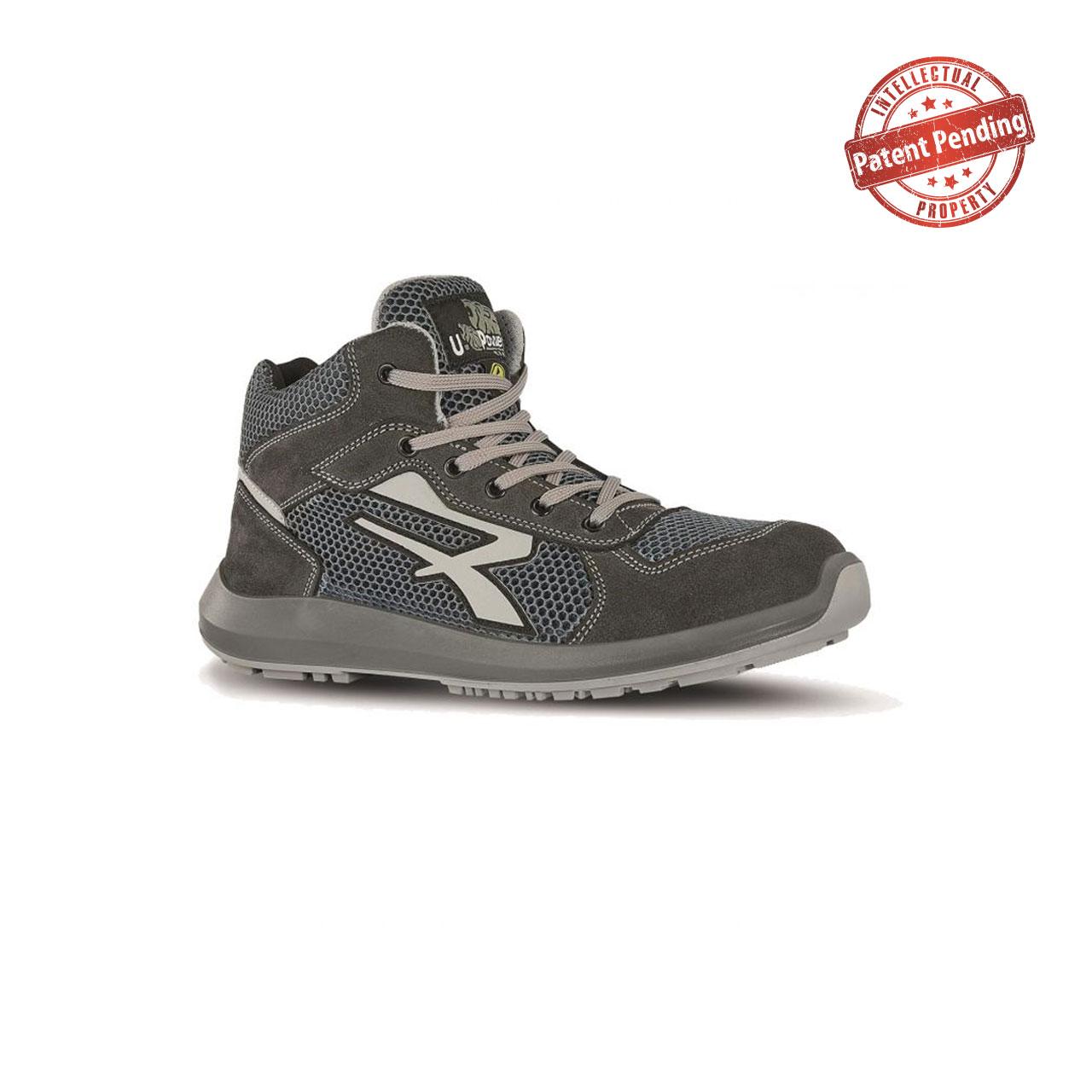 scarpa antinfortunistica alta upower modello atos linea dexter vista laterale