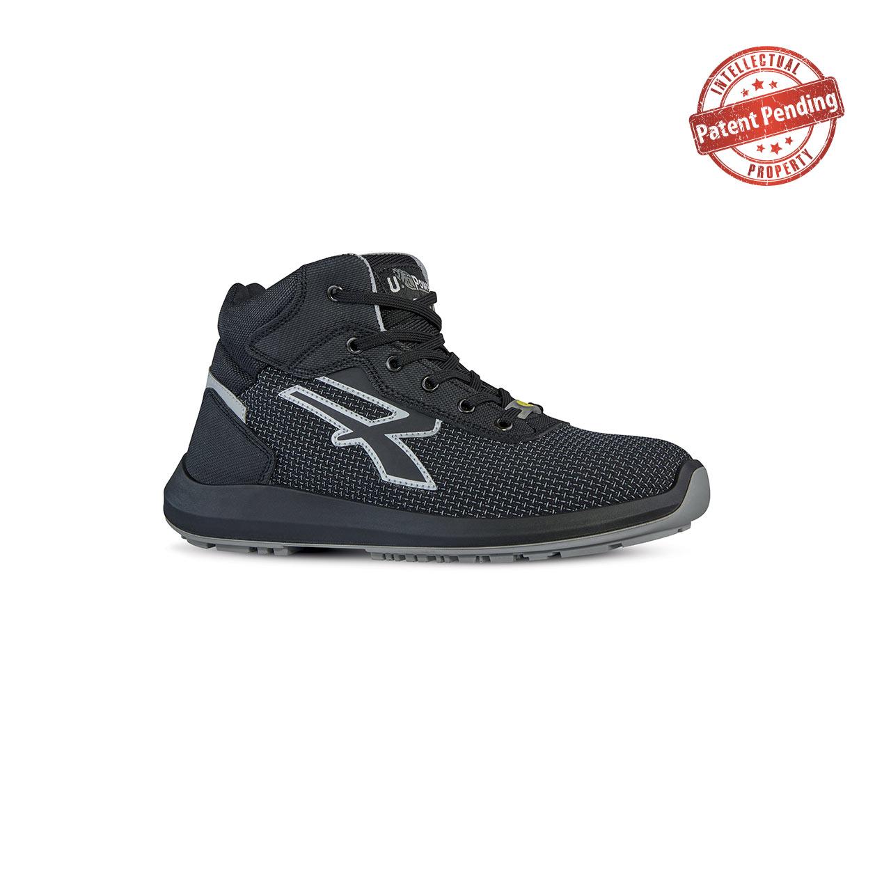 scarpa antinfortunistica alta upower modello captain linea redup vista laterale