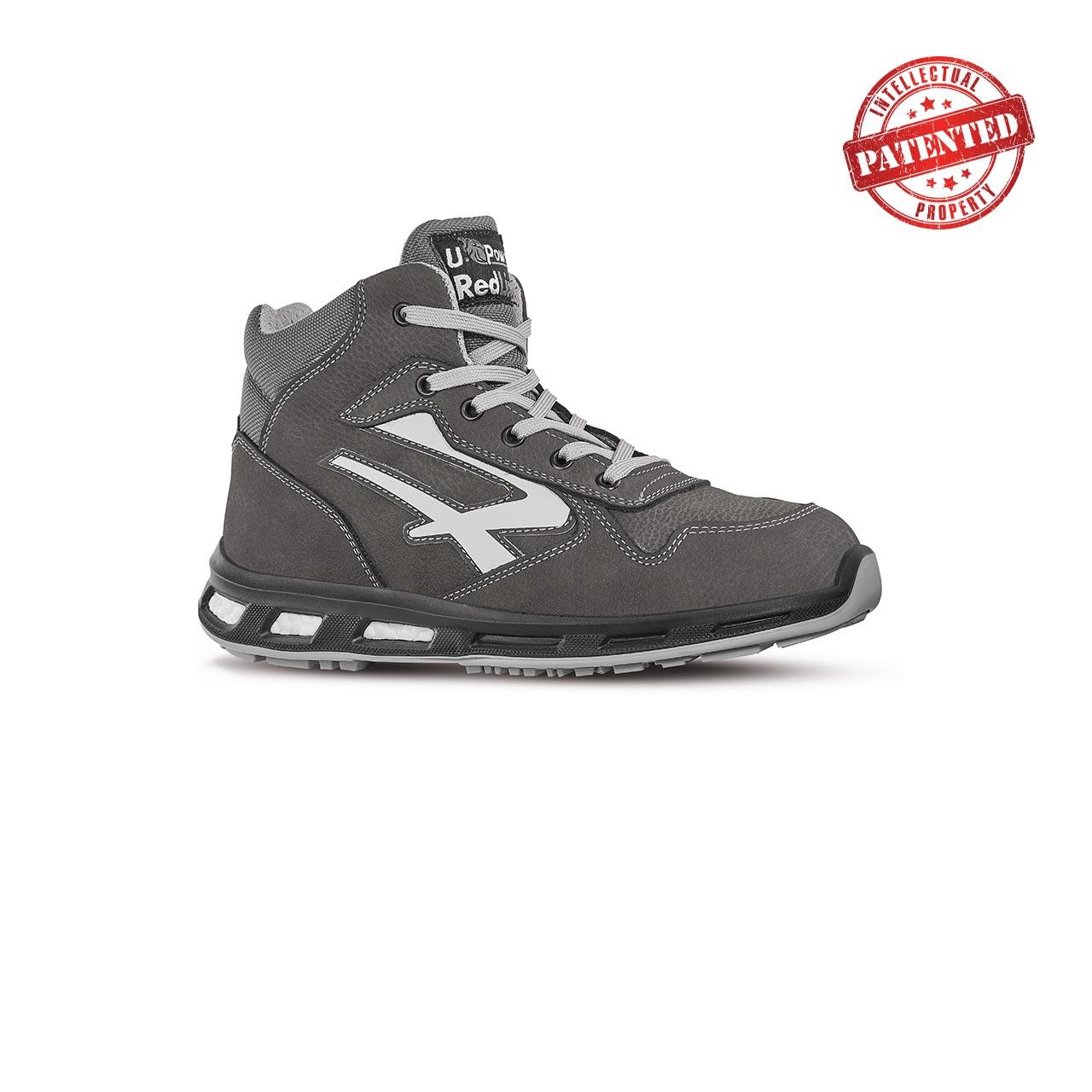 scarpa antinfortunistica alta upower modello infinity linea redlion vista laterale