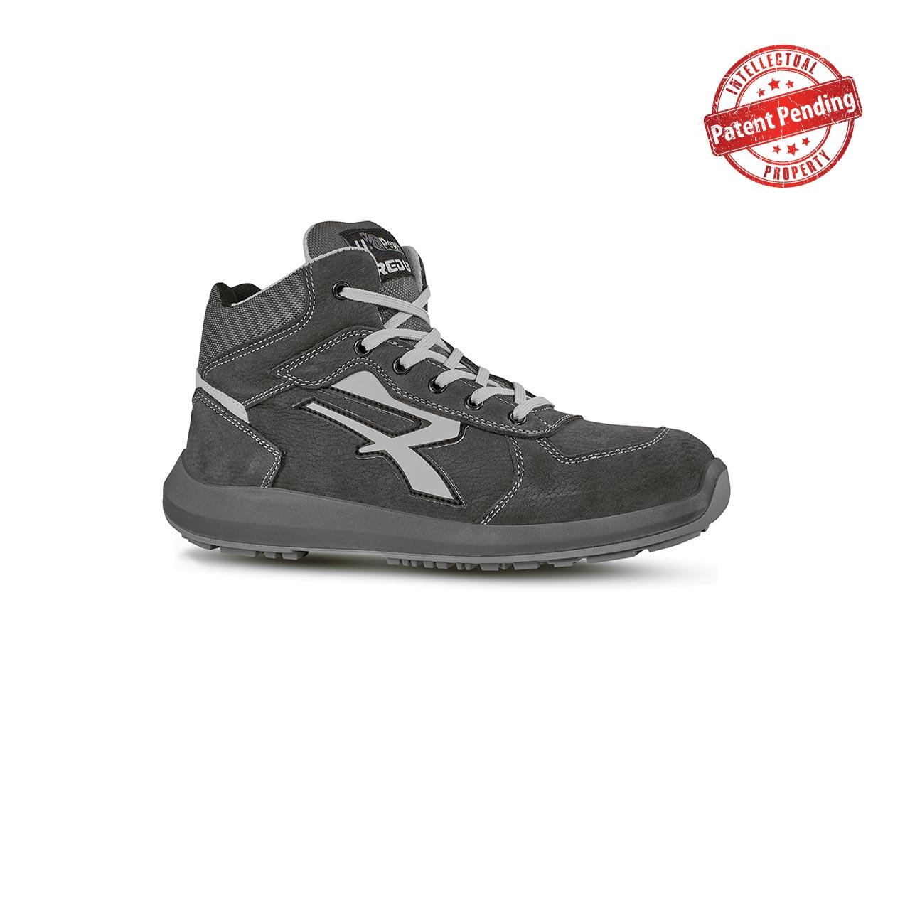 scarpa antinfortunistica alta upower modello merak linea redup vista laterale