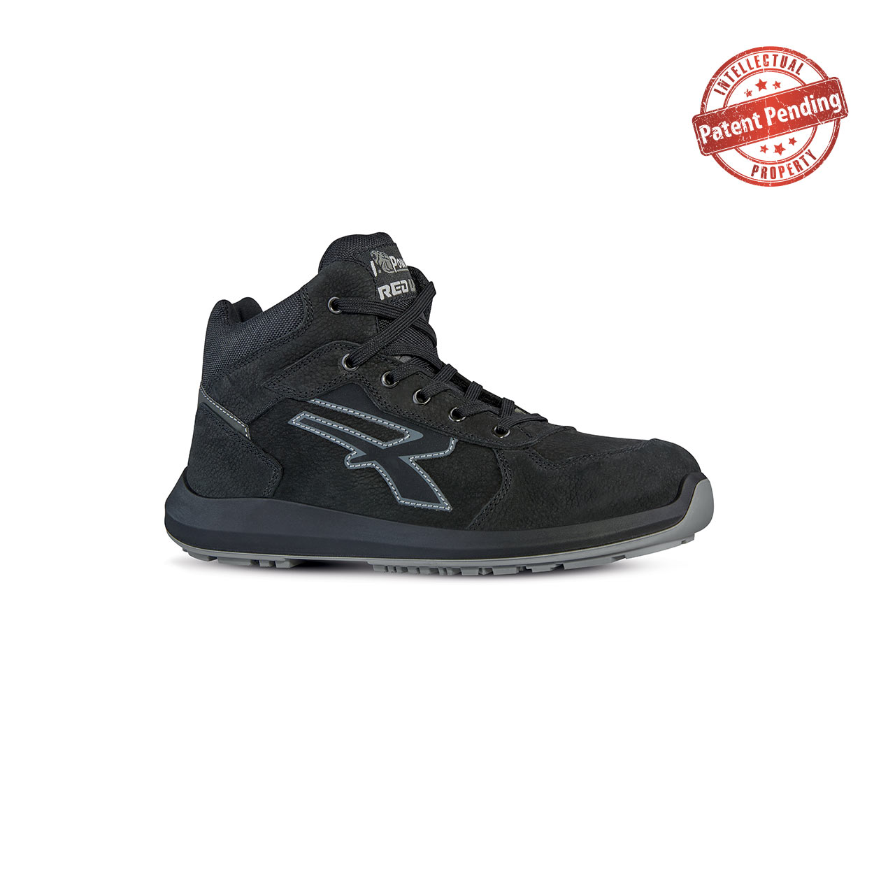 scarpa antinfortunistica alta upower modello nek linea redup vista laterale