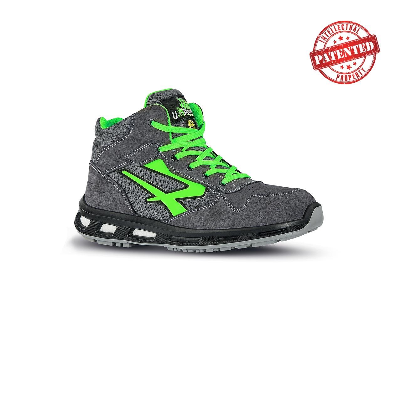 scarpa antinfortunistica alta upower modello ramas linea redlion vista laterale
