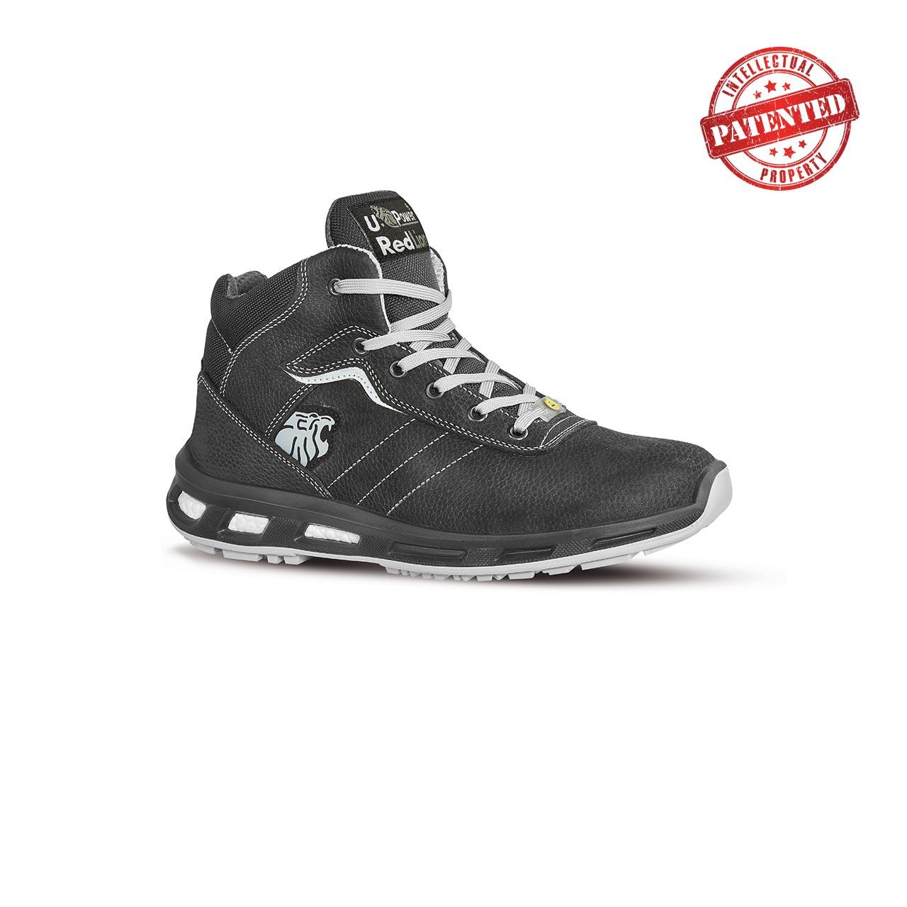 scarpa antinfortunistica alta upower modello shape linea redlion vista laterale