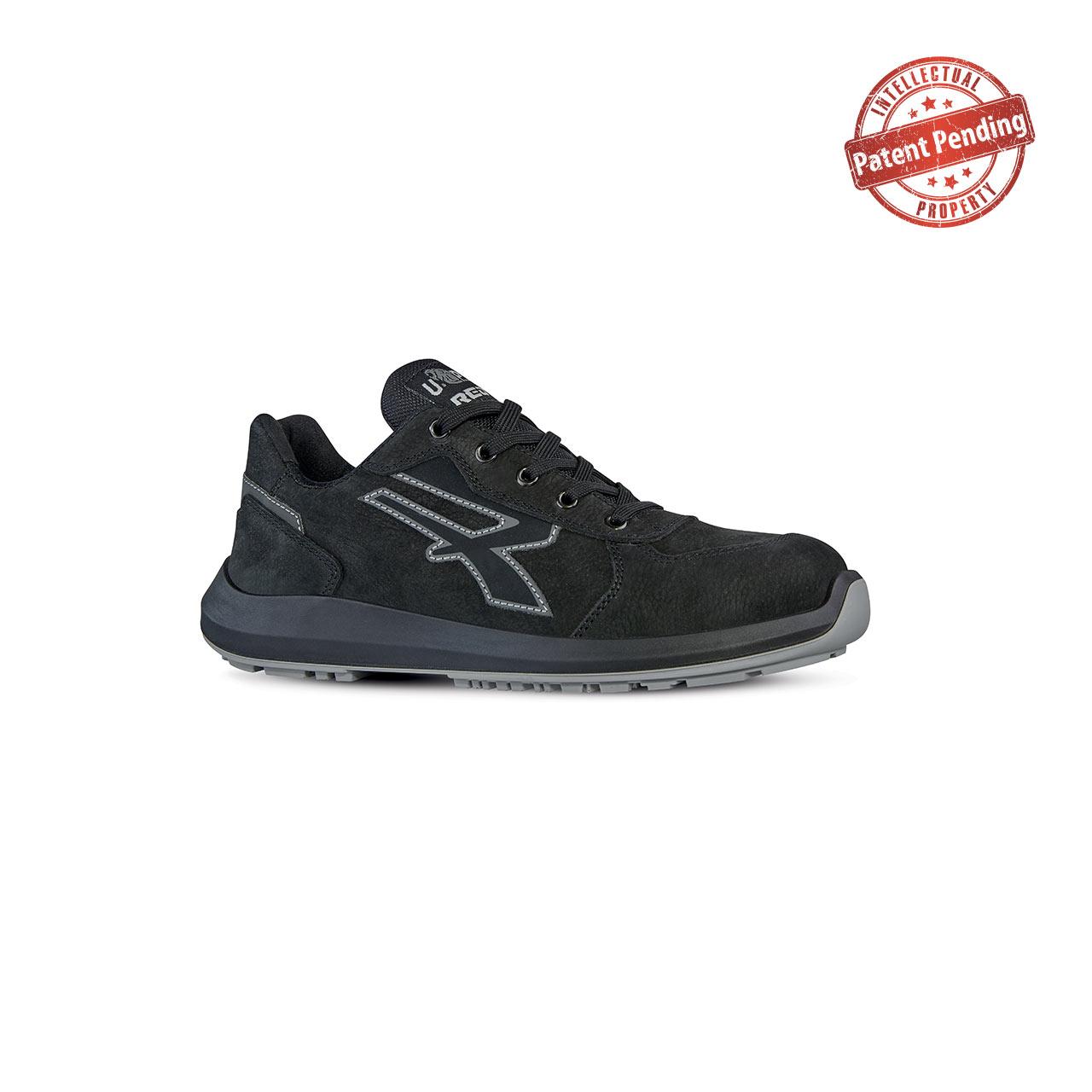 scarpa antinfortunistica alta upower modello shedir linea redup vista laterale