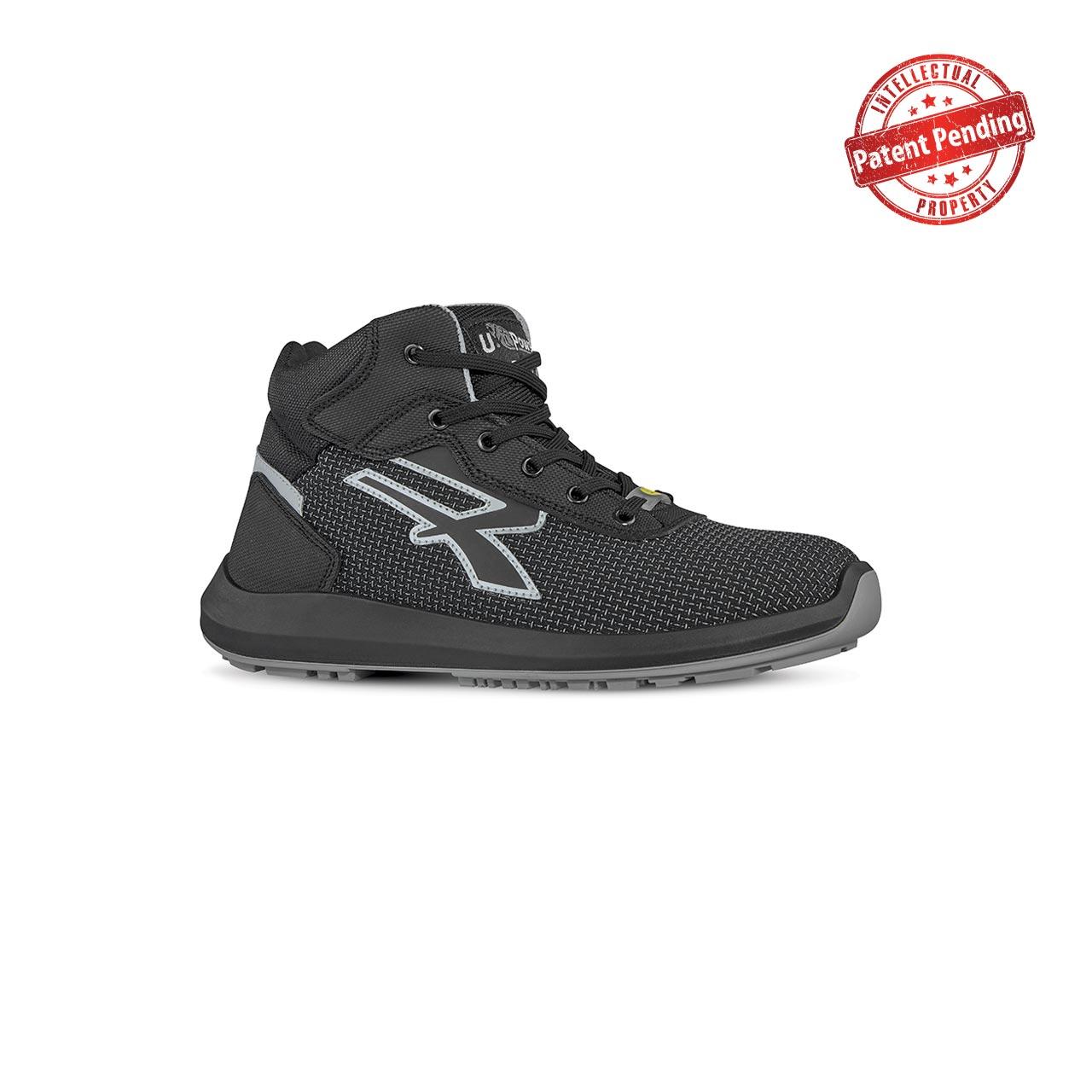 scarpa antinfortunistica alta upower modello velar linea redup vista laterale