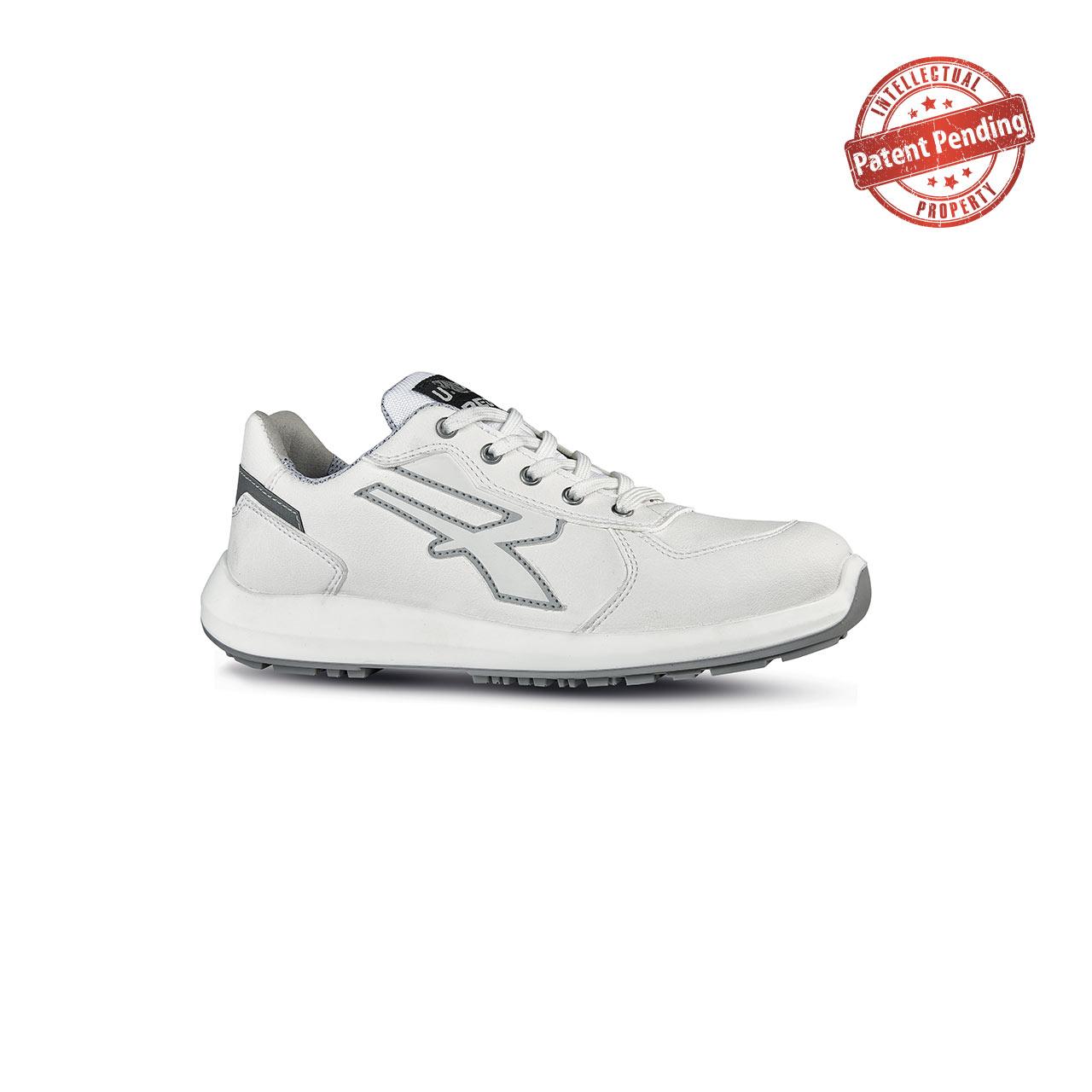 scarpa antinfortunistica alta upower modello virgo linea redup vista laterale