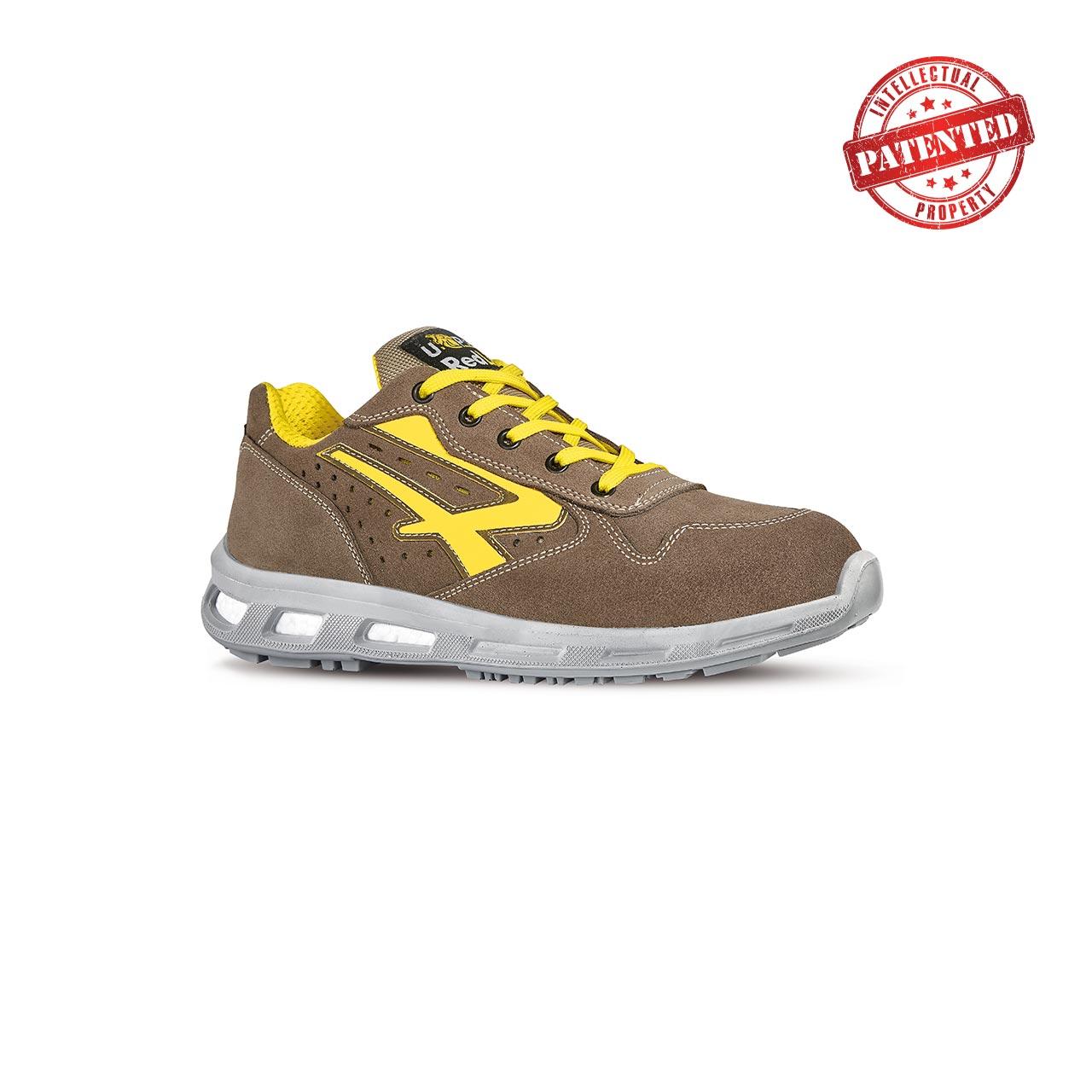 scarpa antinfortunistica upower modello adventure linea redlion vista laterale