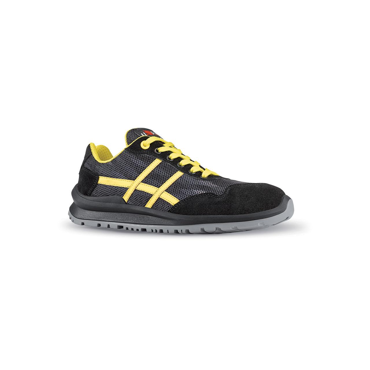 scarpa antinfortunistica upower modello alex linea flatout vista laterale