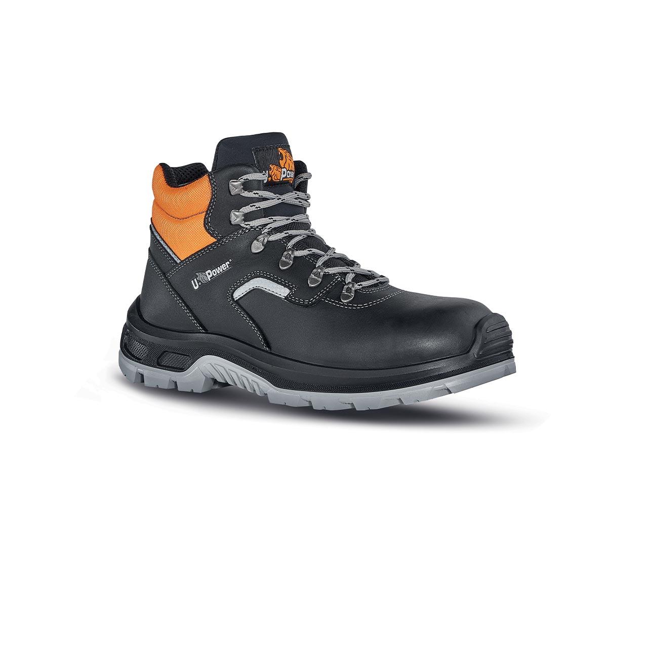 scarpa antinfortunistica upower modello ascend linea conceptplus vista laterale