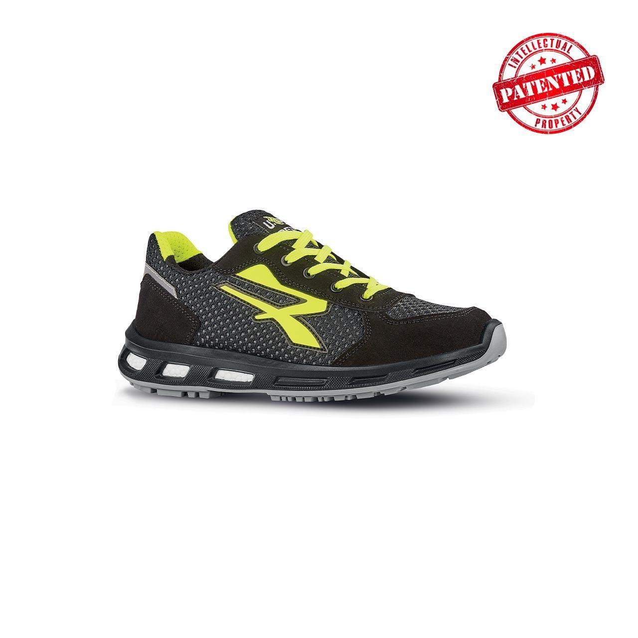 scarpa antinfortunistica upower modello asher linea redpro vista laterale