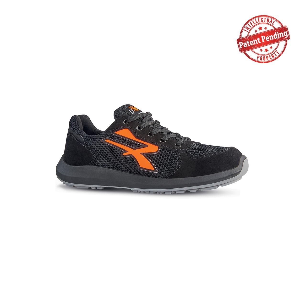 scarpa antinfortunistica upower modello atos linea redup vista laterale