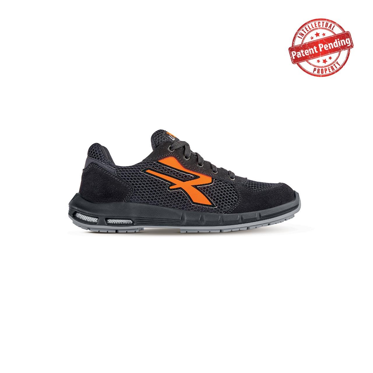 scarpa antinfortunistica upower modello atos plus linea redup plus vista laterale