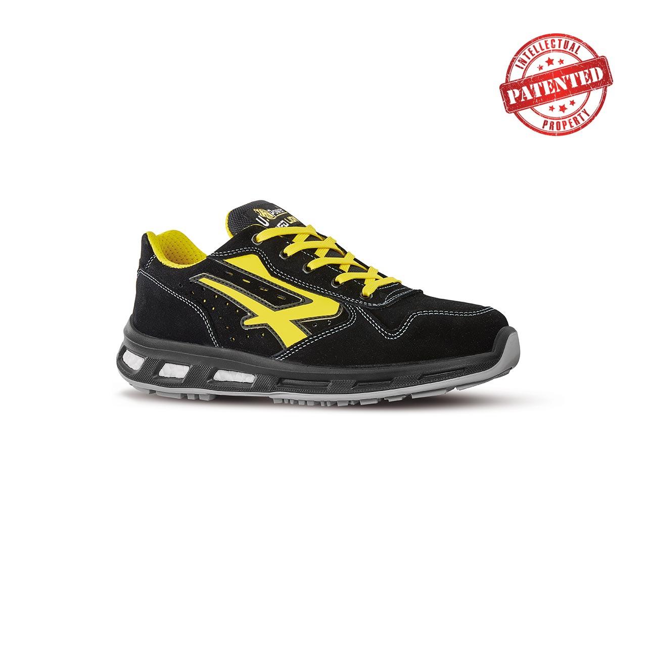 scarpa antinfortunistica upower modello axel linea redlion vista laterale
